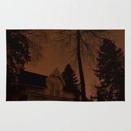 Shadowy house Rug