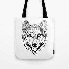 Sonya The Wolf Tote Bag