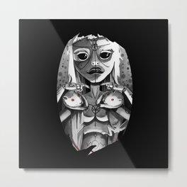 YO-LANDI VI$$ER Metal Print