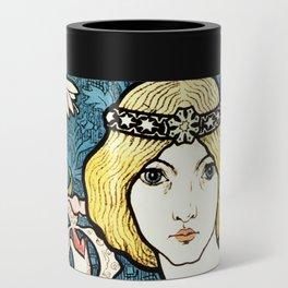 Paul Berthon Salon Des Cent Vintage Art Nouveau Can Cooler