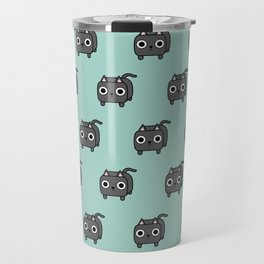 Cat Loaf - Grey Kitty Travel Mug