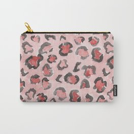 pink leopard Carry-All Pouch