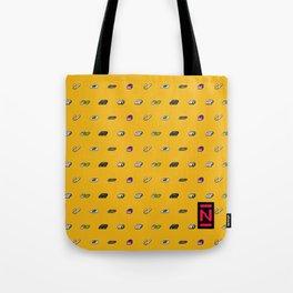 Big N Pixel Consoles Tote Bag