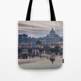 Saint Peter's Basilica at Sunset Tote Bag