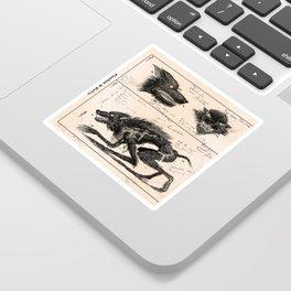 Flegellum de Bestia: Scourge Beast Sticker