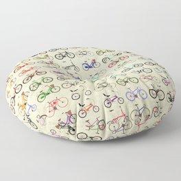 Bikes Floor Pillow
