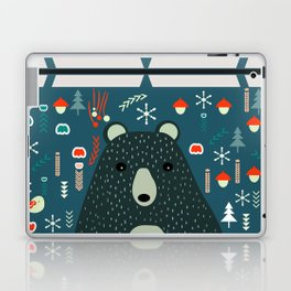Bear Christmas decoration Laptop & iPad Skin