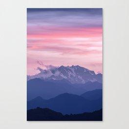 Monte Rosa Canvas Print