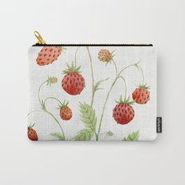 Wild Strawberries Carry-All Pouch