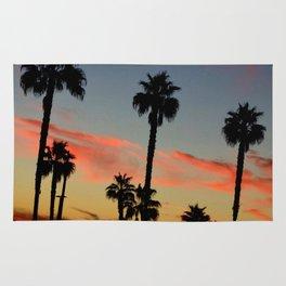 Huntington Beach Sunset Rug