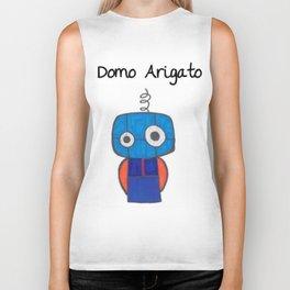 Domo Arigato Mr. Roboto Biker Tank