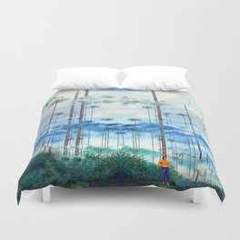 Kidnapped .....Alone in this stunning capsulle Duvet Cover