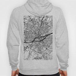 Nantes Map Gray Hoody