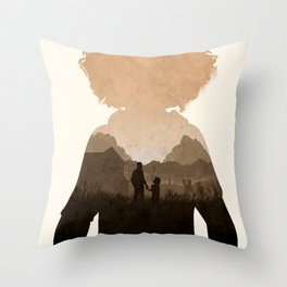 Clementine (TWD) Throw Pillow
