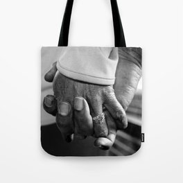 Old Married Hands Tote Bag