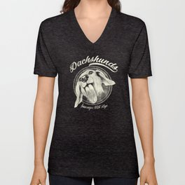 Sausage With Legs Unisex V-Neck