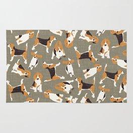 beagle scatter stone Rug