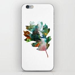 Autumn Leaf Art iPhone Skin