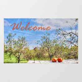 The Apple Orchard Rug