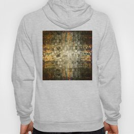 """""""Abstract golden river pebbles"""" Hoody"""
