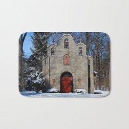 Portiuncula Chapel in Winter I Bath Mat