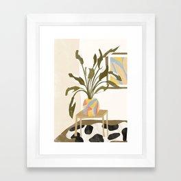 The Plant Room Framed Art Print