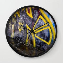 Trolley Park Graffiti Wall Clock