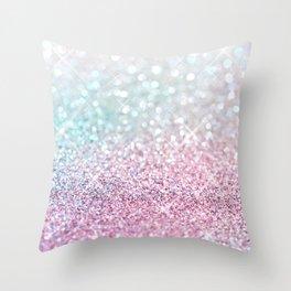 Pastel Winter Throw Pillow