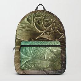 Togetherness, Fractal Art Abstract Backpack