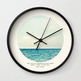 Salt Water Cure Wall Clock