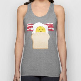 Morning Breakfast Unisex Tank Top