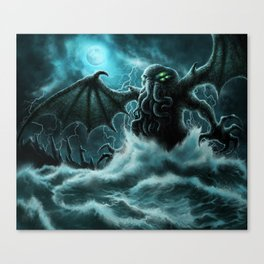 Rise of Cthulhu Canvas Print