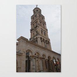 Croatian Cathedral - Split Croatia Canvas Print