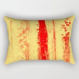 Gerhard Richter Inspired Abstract Urban Rain 3 Rectangular Pillow