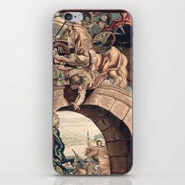 Triumph of Constantine over Maxentius at the Battle of the Milvian Bridge iPhone Skin