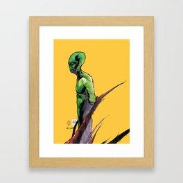 Mr. Green Framed Art Print