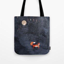 Fox Dream Tote Bag