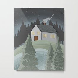 Place to Be Metal Print