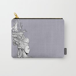 Girl With Ship Carry-All Pouch