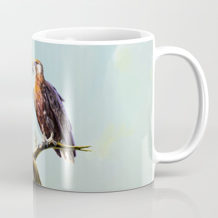 Madagascan Fish Eagle  Coffee Mug