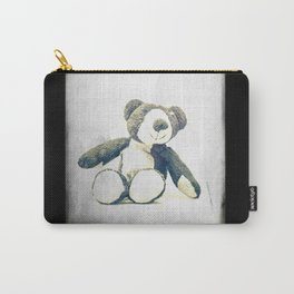 sitting teddy bear... Carry-All Pouch