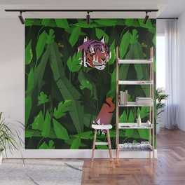 Wildfire in the jungle Wall Mural