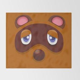 Animal Crossing Tom Nook Throw Blanket