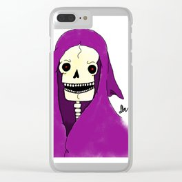Spooks Clear iPhone Case