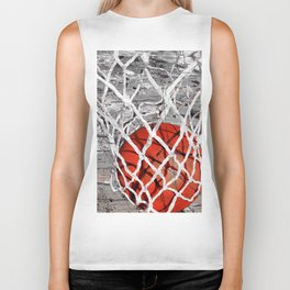 Basketball Art Biker Tank