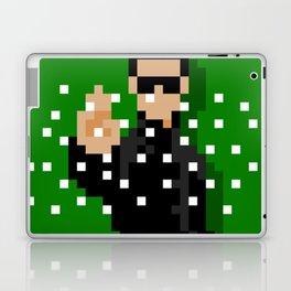 Neo of the Matrix minimal pixel art Laptop & iPad Skin