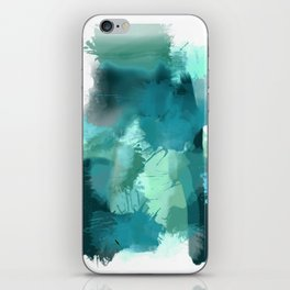 Abstract Jade Color Story iPhone Skin