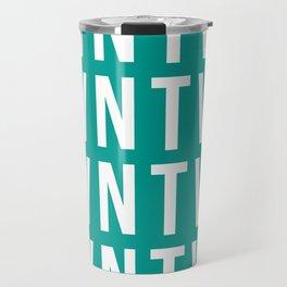 GREEN BLOCK Travel Mug
