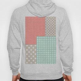 Retro patchwork Hoody