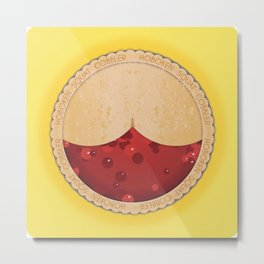 Swat Cobbler, Its Pie Time Metal Print